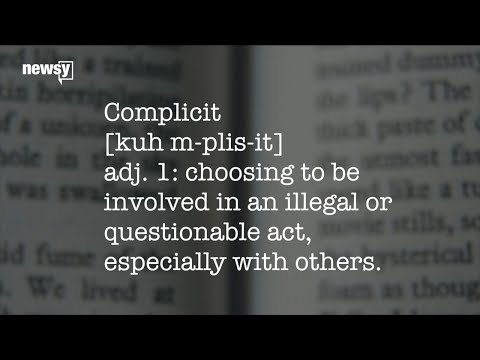 'Complicit' named Word of the Year