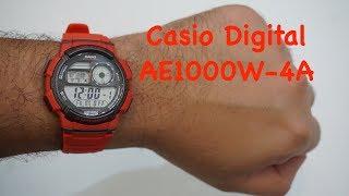 Casio AE1000W-4AVDF-Unboxing