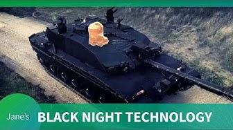 "Challenger 2 ""Black Night "" - technology spotlight"