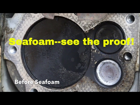 Seafoam--can't believe what it did to my engine part 3--cylinder cleaning test!!