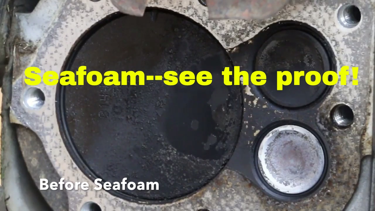 Seafoam--can't believe what it did to my engine part 3 ...