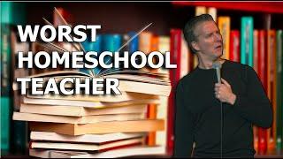 COMEDIAN JUSTON MCKINNEY- WORST HOMESCHOOL TEACHER