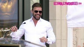 Ricky Martin Speaks At Eva Longoria