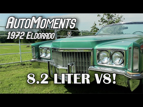 1972 cadillac eldorado 8 2 liters of v8 power automoments youtube. Black Bedroom Furniture Sets. Home Design Ideas
