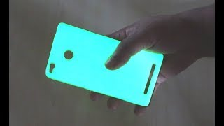 DIY Glow in the dark any Mobile Case at home