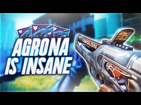 Destiny 2 - THIS PULSE can ABSOLUTELY DESTROY!   AGRONA PR4 in CRUCIBLE!