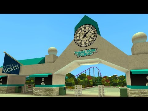 How To Build A Park Entrance Updated Youtube