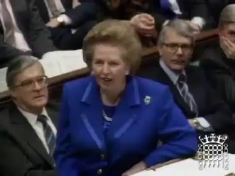 Margaret Thatcher on Socialism & Single European Currency