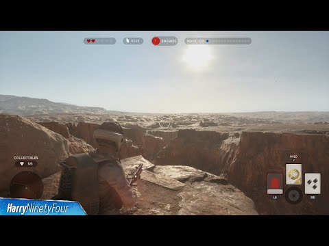 Star Wars Battlefront - All Collectible Locations - Survival on Tatooine Collectible Guide