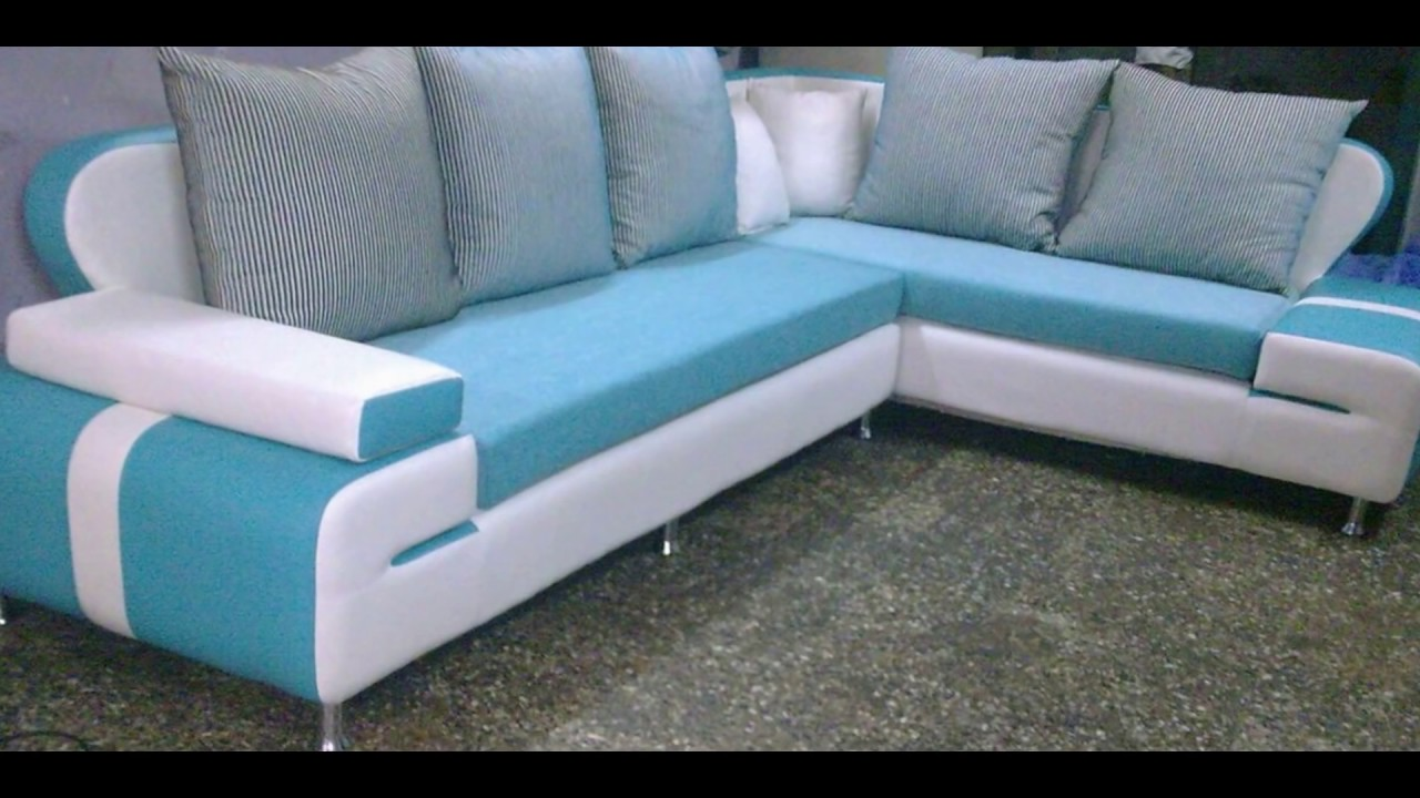 Corner sofa set for your Living Room...Erode Steel Furniture - YouTube
