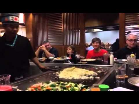 Japanese Restaurant Hibachi In Galleria Mall In Middletow Youtube