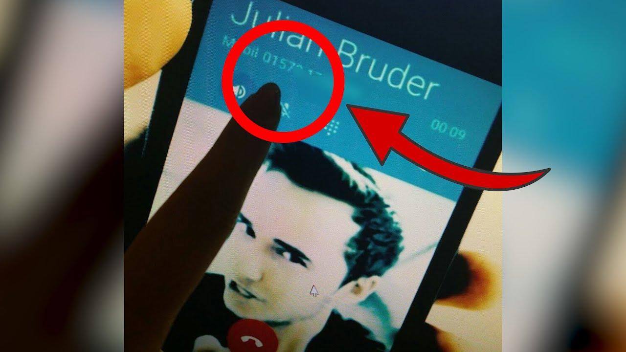 Julians Handynummer
