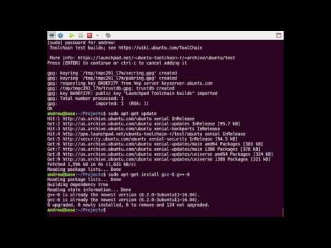 Upgrade gcc and g++ in Ubuntu