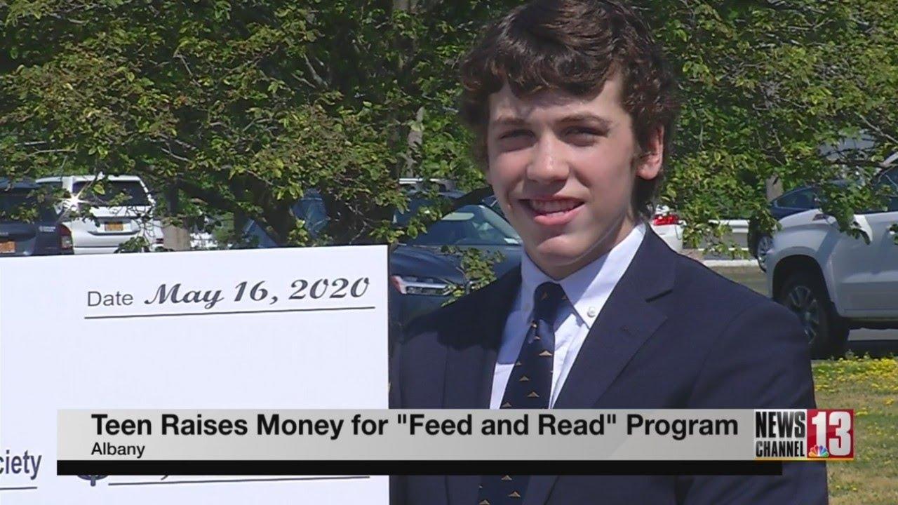 Albany teenager raises money for area homeless children