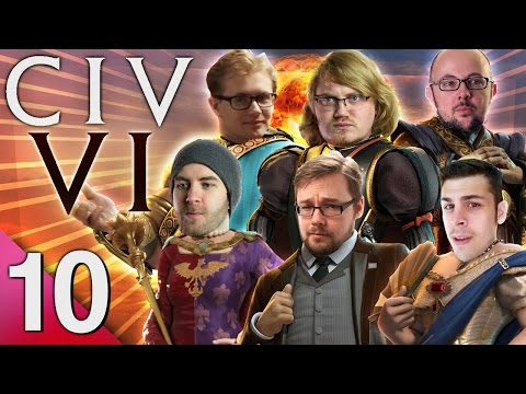 Civ 6 - Prongs of Power #10 - Can't Stop the Nuke