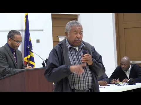 Princeville NC Regular Monthly Meeting See Rev. Roosevelt Higgs Ignorance