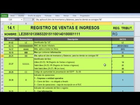libros-electrÓnicos-sunat-ple-v-5.0---registro-de-ventas-e-14.1
