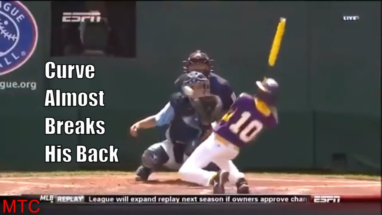 The Nastiest Pitches In Little League World Series History