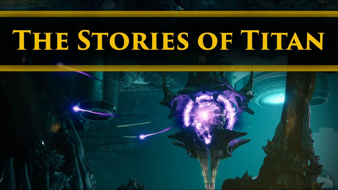 Destiny 2 Lore - The major lore and stories of Titan, The Moon of Saturn!