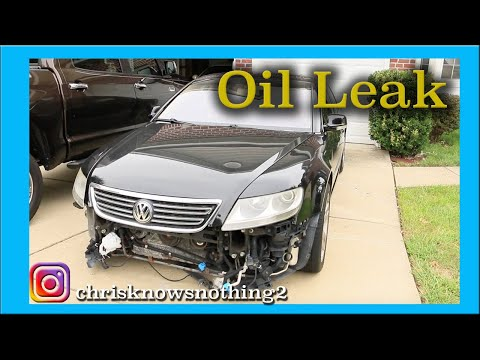 Phaeton Oil Leak Fix