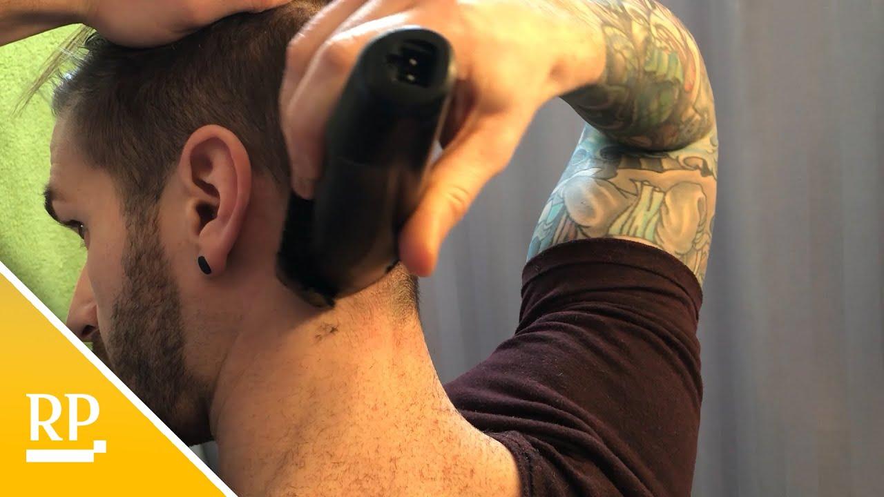 Selber haare schneiden männer Auch Männer