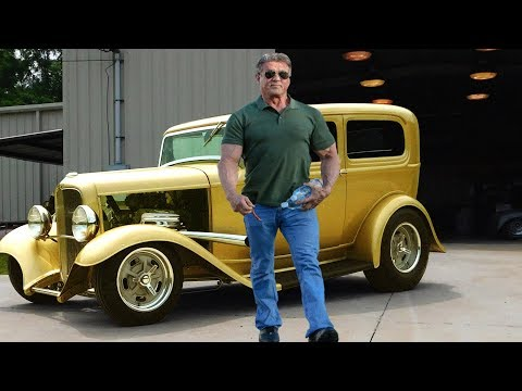 Sylvester Stallone's Car Collection ★ 2017