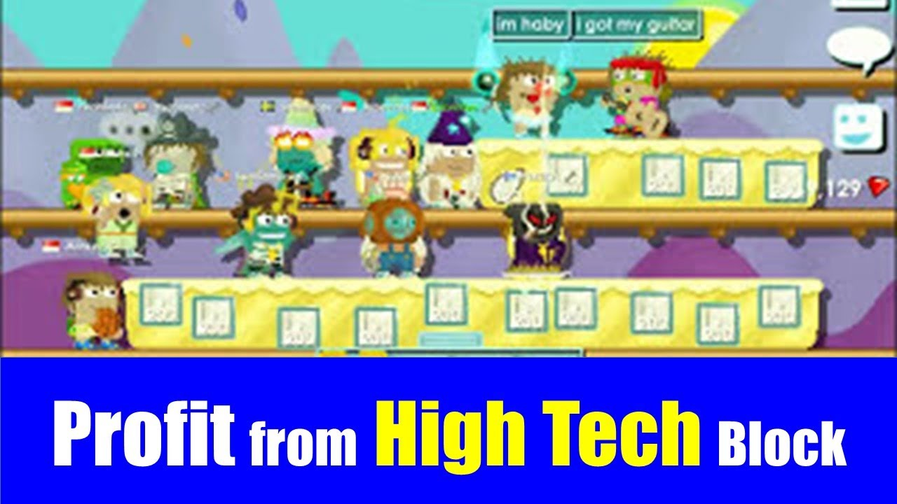 Growtopia 74 How Much Can You Earn From 2 000 High Tech Farm Youtube