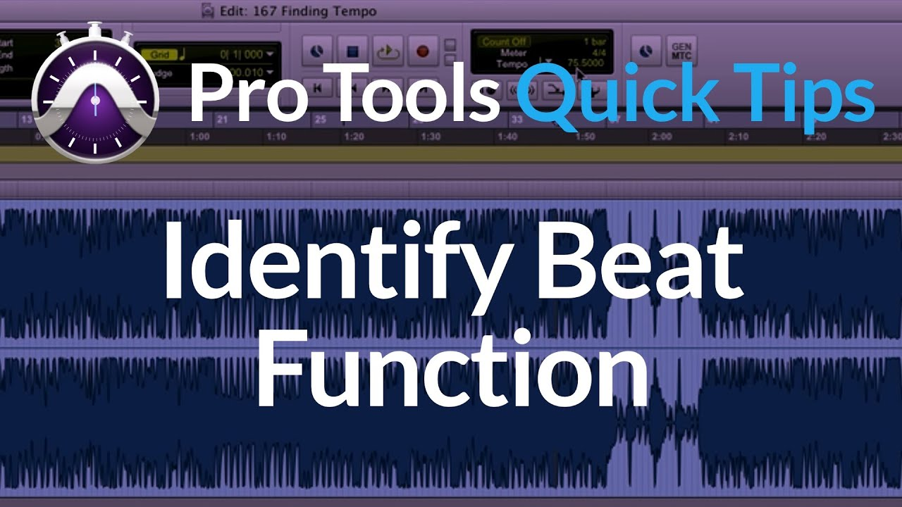 Pro Tools: Pro Tools Tap Tempo