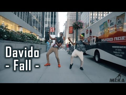 Davido - Fall (Official Dance Video) | Meka Oku & Wendell Choreography