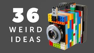 36 Weird Photography Ideas I really Want to Test in 2019