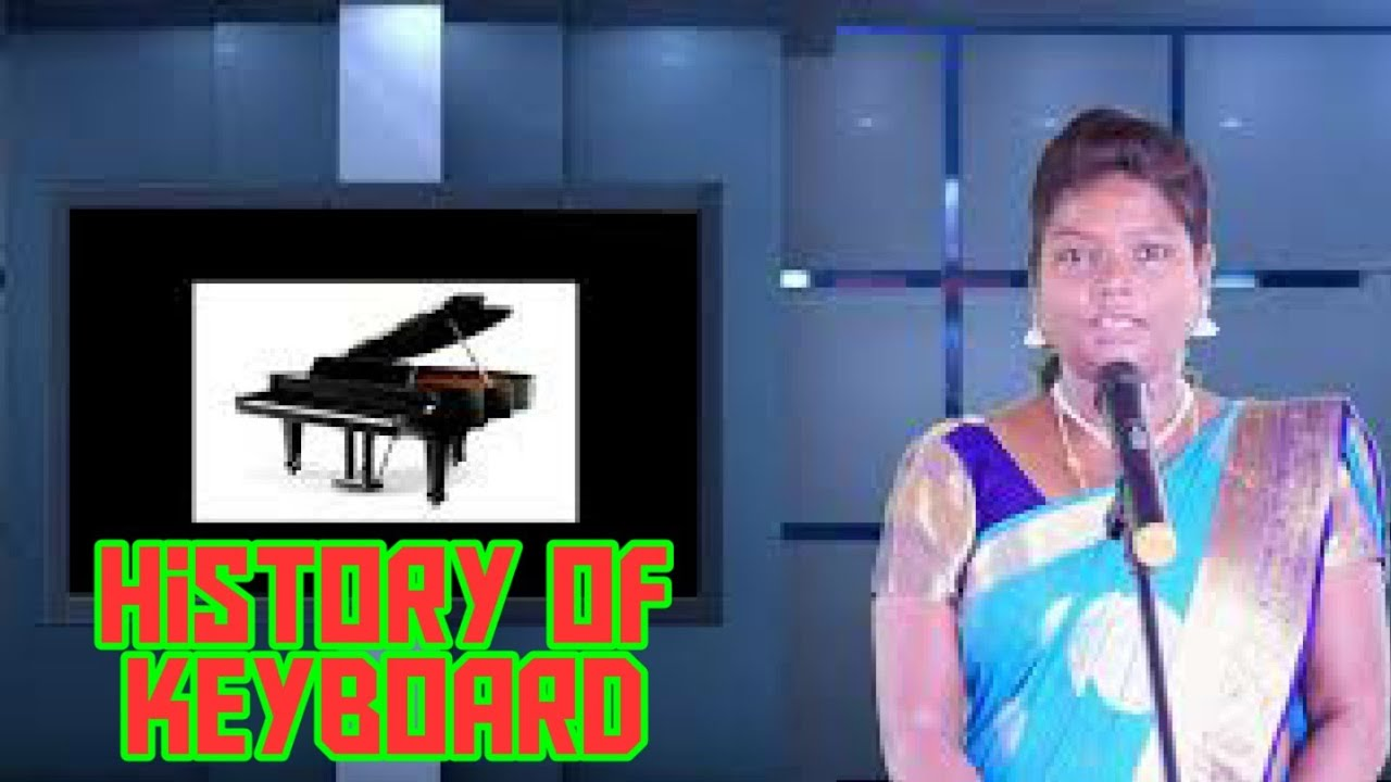 History of Instrument Keyboard  in The world & India Keyboard history in Telugu by Kalyani From SSSK