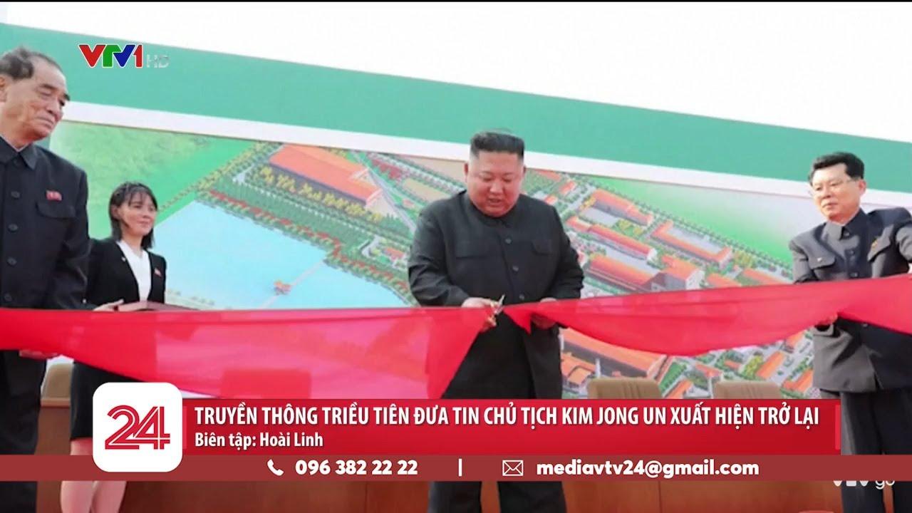 Truyền thông Triều Tiên đưa tin Chủ tịch Kim Jong Un xuất hiện trở lại | VTV24