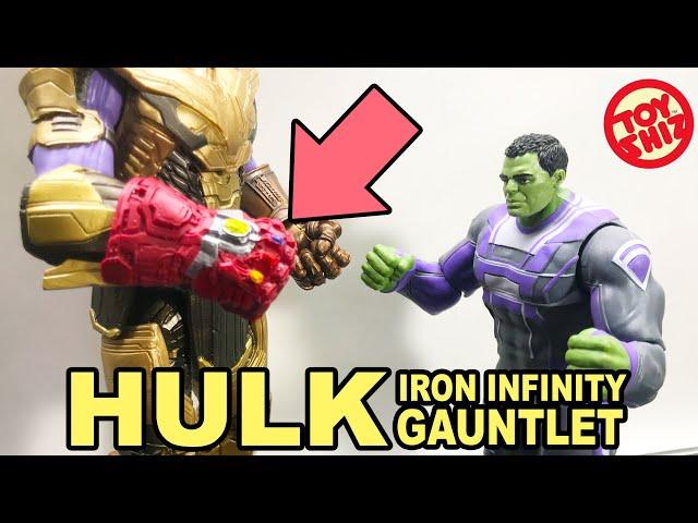 Marvel (not Legends) Basic Endgame Professor HULK w/ Nano Gauntlet