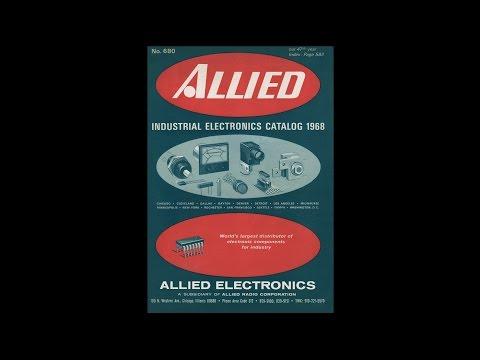 1968 Allied Electronics - Industrial Electronics Catalog #680