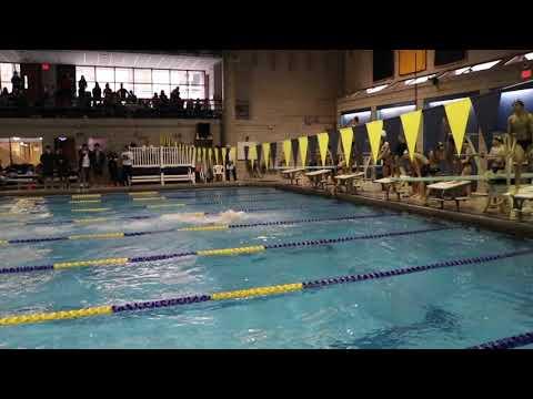 Phillips Academy (Andover) Boys Break 200 SCM Medley Relay National High School Record