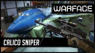 Warface Americano Calico Sniper AirBase