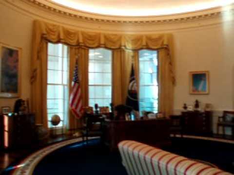Clinton's Oval Office