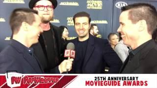 Adam Anders & Jencarlos Canela Interview: Movieguide Awards 2017