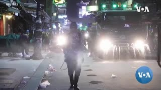 TV COVID Disinfecting Streets -- Arabasadi