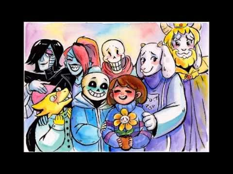 Undertale character theme songs not in game