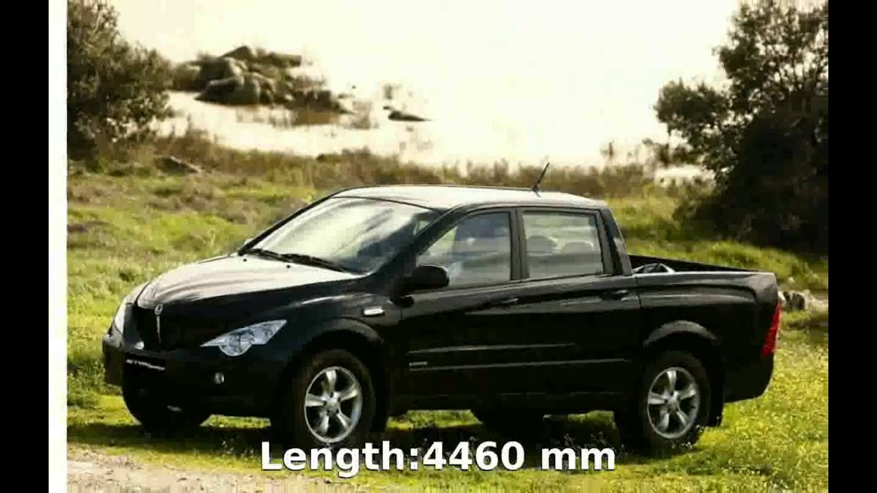 2010 ssangyong actyon sports walkaround info youtube. Black Bedroom Furniture Sets. Home Design Ideas