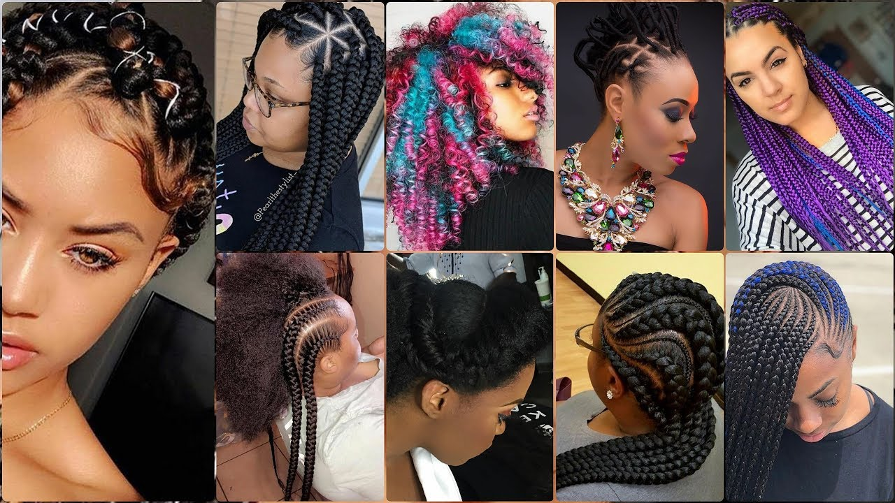 latest female hairstyles in african and nigeria braids