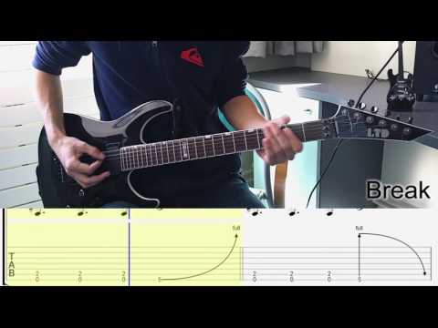 Korn - A Different World Guitar Lesson (w/ TABS) [HD]