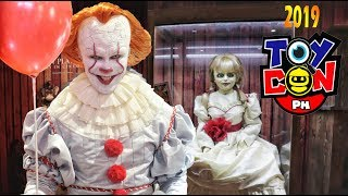 PENNYWISE IS BACK & invades TOYCON 2019!