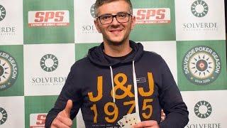 Pedro Monteiro Vence Etapa #1 Solverde Poker Season 2017