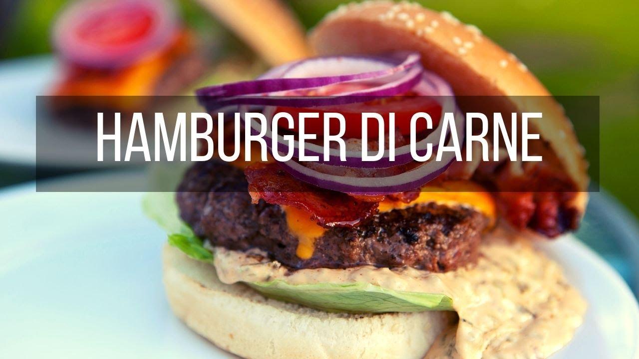 Youtube Ricetta Hamburger.Hamburger Fatti In Casa Facilissimi Ricetta Step By Step Youtube
