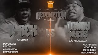 T-REX VS DANNY MYERS SMACK/ URL RAP BATTLE