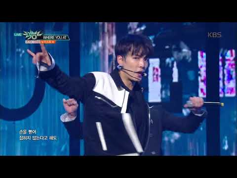 뮤직뱅크 Music Bank - WHERE YOU AT - 뉴이스트 W (WHERE YOU AT - NU'EST W).20171013