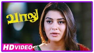 Vaalu Tamil Movie | Scenes | Simbu Gives Back Hansika's Phone To Her | Santhanam
