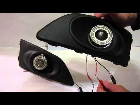 Противотуманные фары с ДХО для Chevrolet Aveo 2. От МирДХО